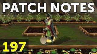 RuneScape Patch Notes #197 - 27th November 2017