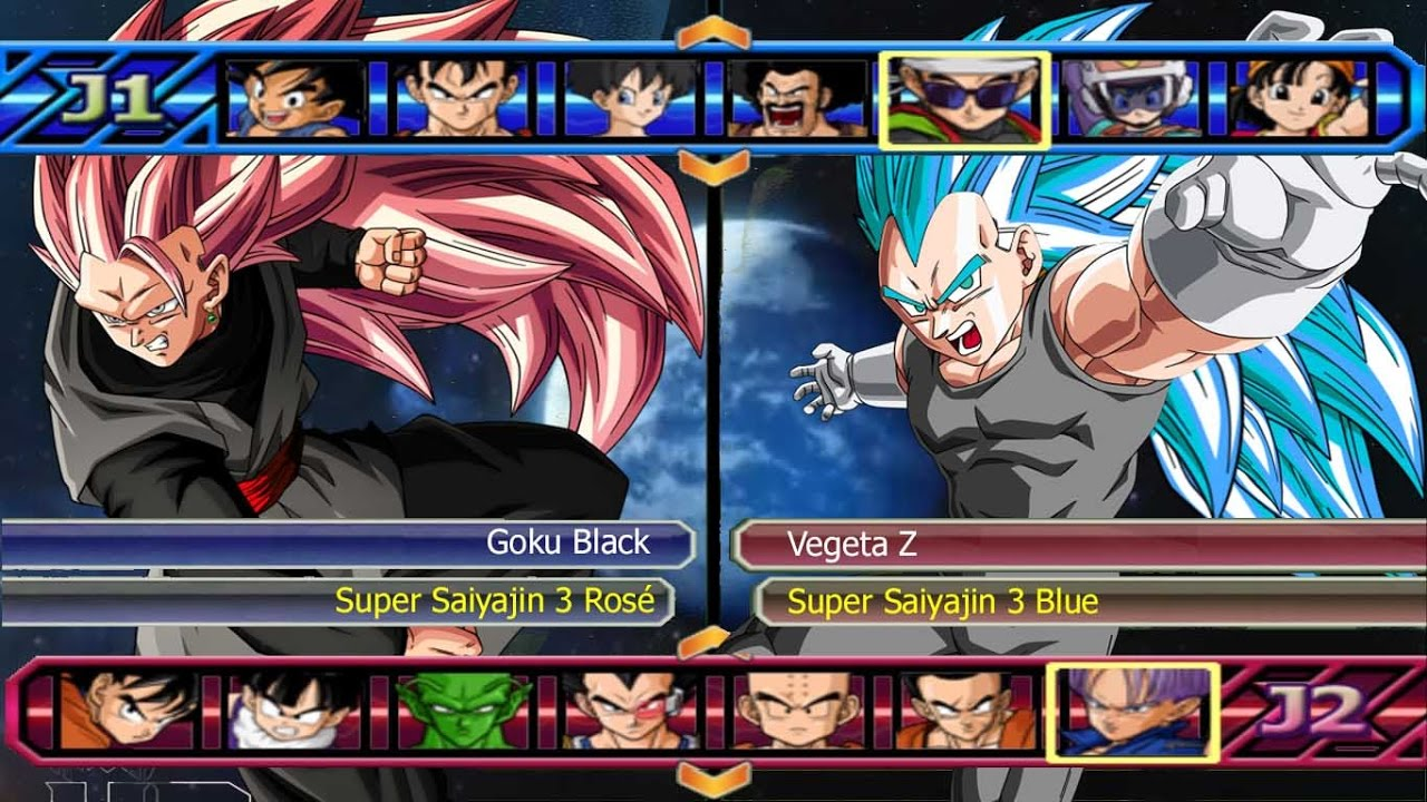 Goku Super Saiyan Rose Goku Black Vs