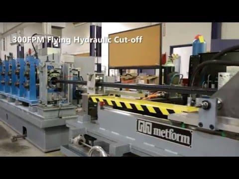High Speed Roll Forming Channel Line - Metform International Ltd.