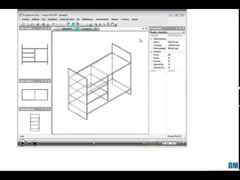 Software para dise o de muebles y optimizaci n de corte for Software diseno cocinas 3d gratis