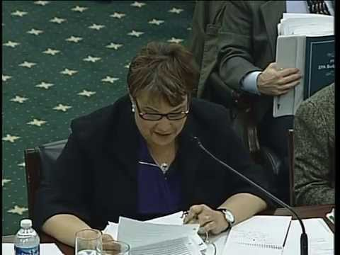 Hearing: Environmental Protection Agency FY 2013 Budget