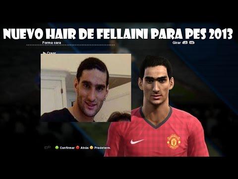 Nuevo Hair de Fellaini para pes 2013 (V1-V2)