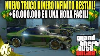 *PARCHADO* TRUCO DINERO INFINITO DUPLICAR AUTOS DE LUJO BRUTAL! | GTA 5 +60.000.000 EN UNA HORA!