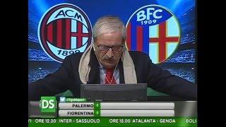 Diretta Stadio 7Gold Milan - Bologna 0 - 1 Crudeli: VERGOGNA!