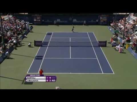 Dominika Cibulkova Mercury Insurance Open Final Hot Shot