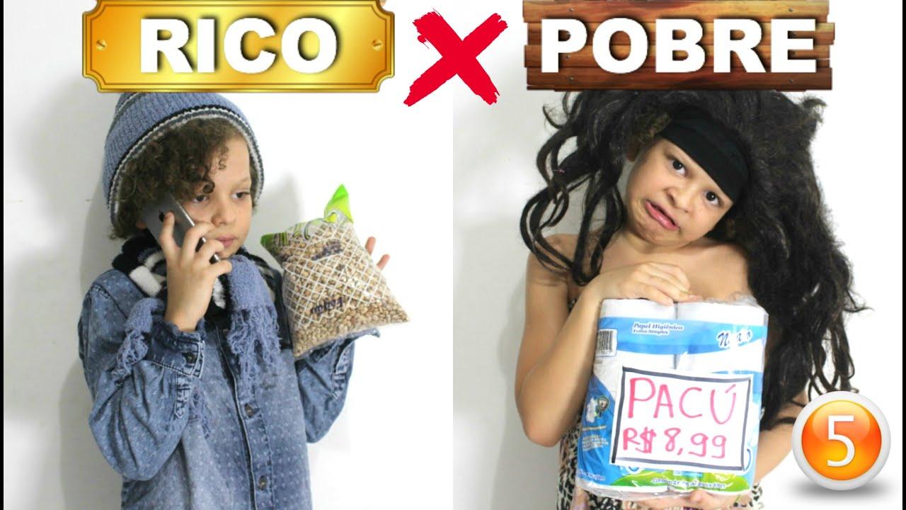 RICO VS POBRE FAZENDO AMOEBA / SLIME #40 - …