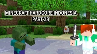 "Minecraft Hardcore Indonesia Part 28 ""Cari Enderman"""