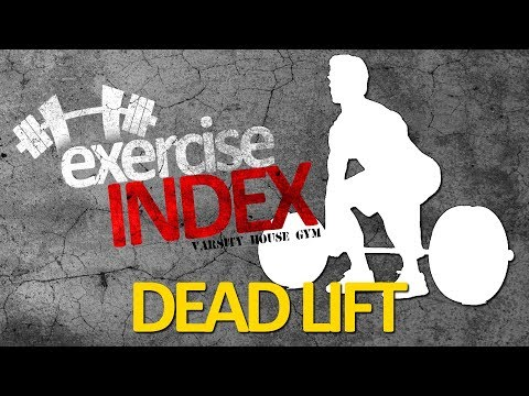 Traditional Deadlift - Exercise Index (Varsity House Gym)