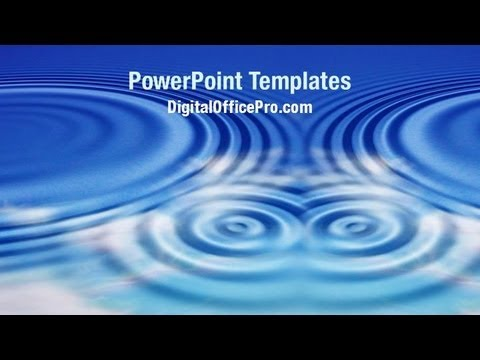 Water ripples powerpoint template backgrounds digitalofficepro water ripples powerpoint template backgrounds digitalofficepro 08491w toneelgroepblik Choice Image