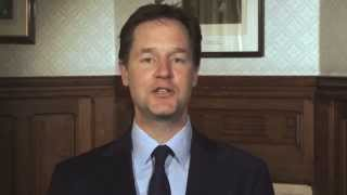 Happy Easter 2014: message from Nick Clegg
