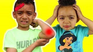The Boo Boo Song | Anwar Pretend Play Nursery Rhymes & Kids Songs