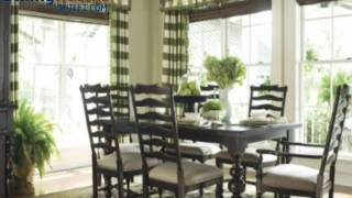 Paula Deen Home 7-pc Paula's Table & Chairs W/uph Chairs Tobacco