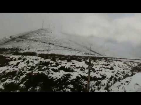 A Serra do Xistral, cuberta de neve