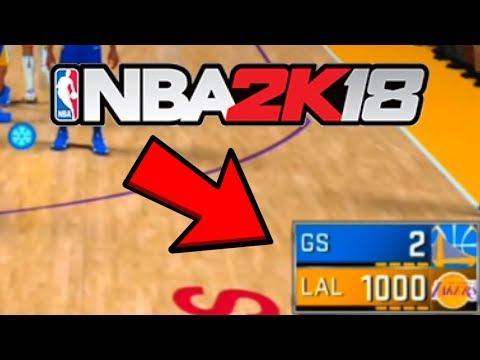 I Scored 1000 POINTS In ONE GAME! Can I Break The Scoreboard In NBA 2K18?!