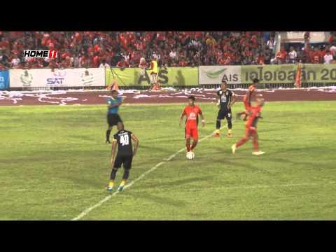 ไฮไลท์การแข่งขันฟุตบอล AIS ลีก นัดที่ 20  อุดรธานีเอฟซี 3 - 3 ขอนแก่นเอฟซี