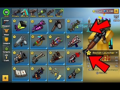 UNLOCK ALL 14.1.0 WEAPONS FOR FREE (NEW UPDATE) I PIXEL GUN 3D !!!