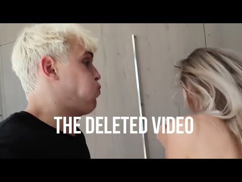Jake Paul Spits on Alissa Violet (Deleted Video)