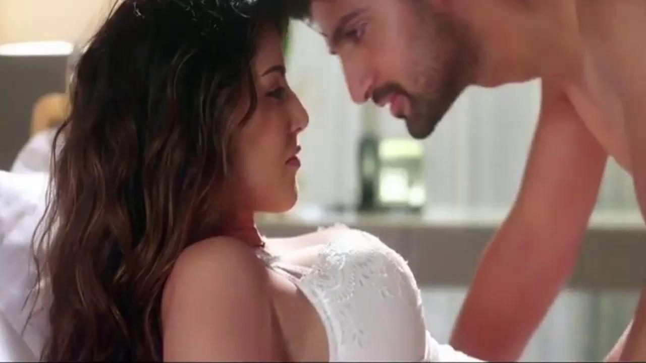 Hot sexy bedroom scene
