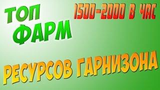 РЕСУРСЫ ГАРНИЗОНА ФАРМ 1500-2000 В ЧАС! I  ГАЙД В WOW 6.2