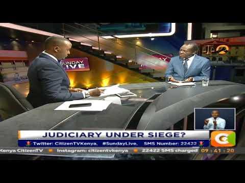 Sunday Live : Is Judiciary under siege?