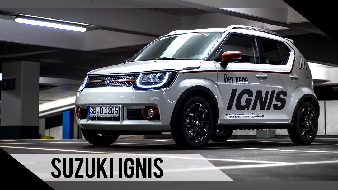 suzuki ignis 2017 test review fahrbericht. Black Bedroom Furniture Sets. Home Design Ideas