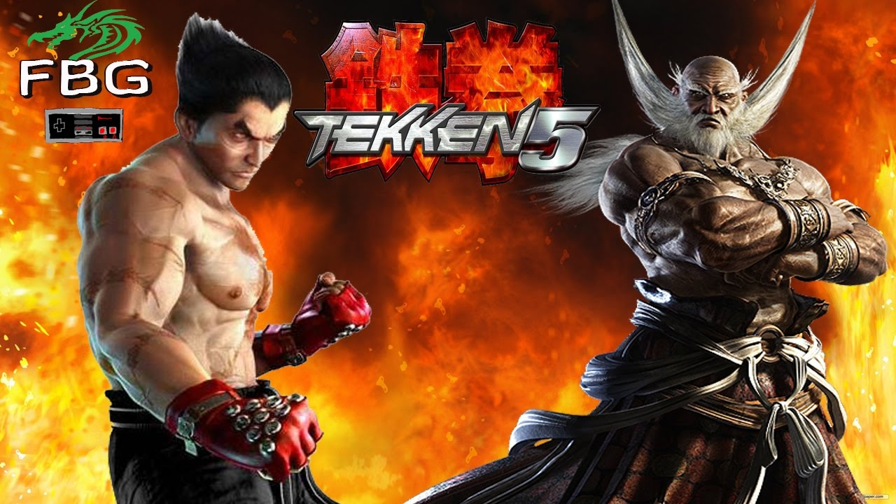 Tekken 5 Ps2 Final Boss Youtube