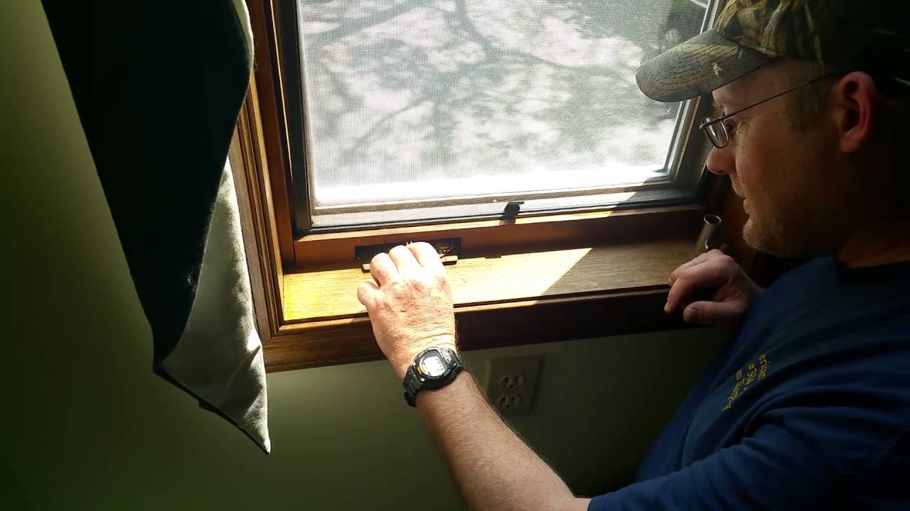How To Fix A Caradco Casement Window Crank Mechanism Youtube