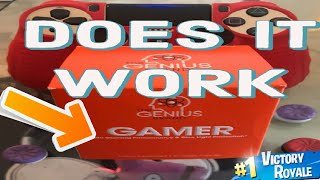GENIUS GAMER - DOES IT WORK? Fortnite Battle Royale