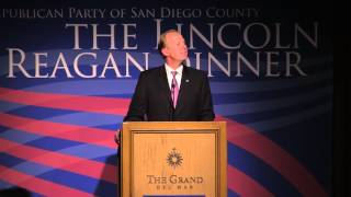 Lincoln Reagan Dinner 2014 - Republican Party of San Diego County