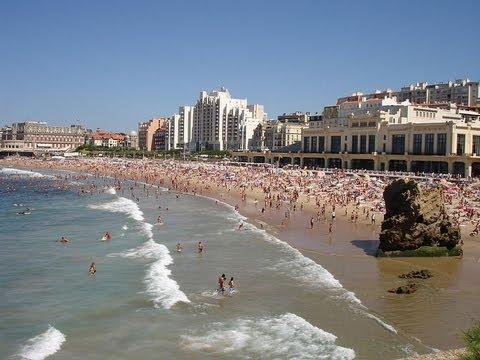 Biarritz France travel video