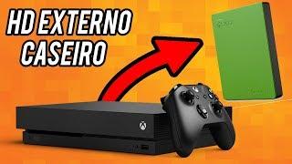 HD EXTERNO PARA XBOX ONE CASEIRO E MUITO BARATO...