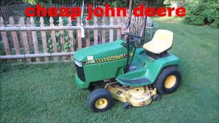 Busted John Deere Riding Mower Repair,