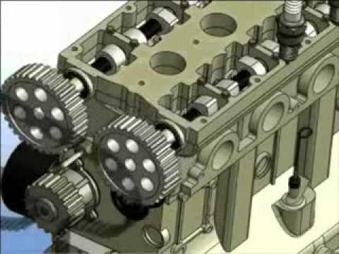 Разборка двигателя ВАЗ 2112 (3d разборка)