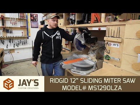 "Tool Talk #7: Ridgid 12"" Compound Sliding Miter Saw"