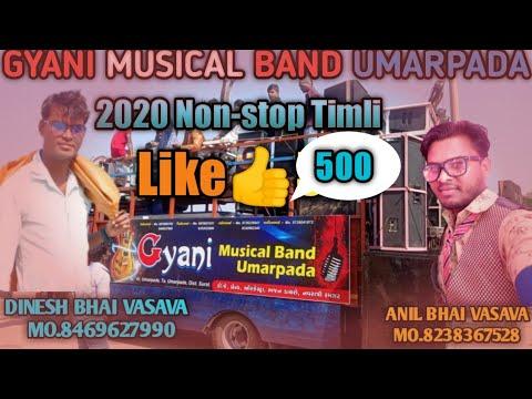 Gyani Musical Band Umarpada 2020 Nonstop Timli #rockyvalvi#
