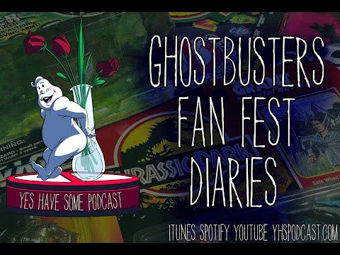 Ghostbusters Fan Fest Diaries - Pt. 1
