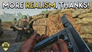 This is why I love realistic FPS games like Hell Let Loose