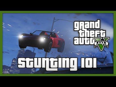 GTA 5: Stunting 101! - Episode 2 (Stunt Tips & Tricks!)