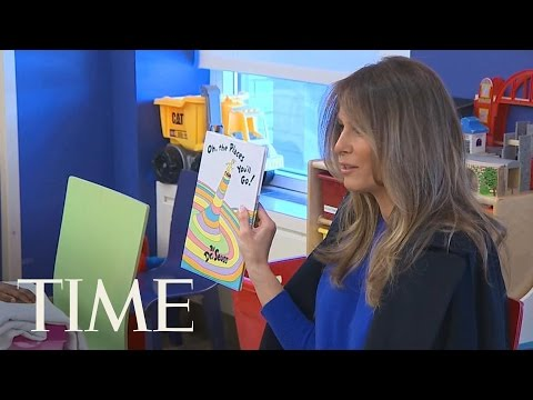 Melania Trump Makes Her First Solo Appearance As First Lady | TIME