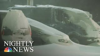 Storms Bring Dangerous Conditions To U.S. | NBC Nightly News
