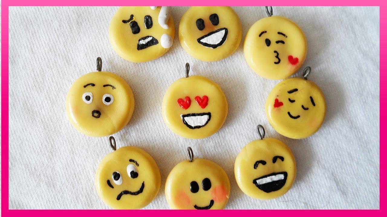 Emoticones Emojis Masa Flexible Cold Porcelain Easy Fácil Youtube