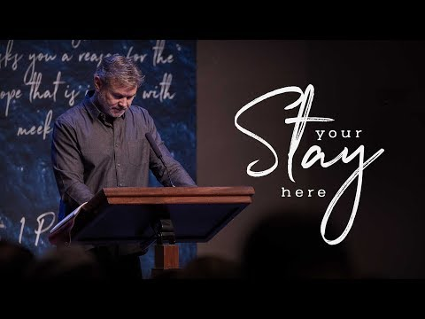 The Christian Life Pt. 1 | A Future of Hope | 1 Peter 1:17-21