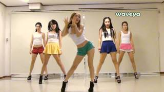 Repeat youtube video PSY싸이 - GANGNAM STYLE (강남스타일) Waveya 웨이브야 Korean dance team