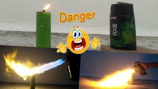 Body Spray vs Fire Experiment - Tamil