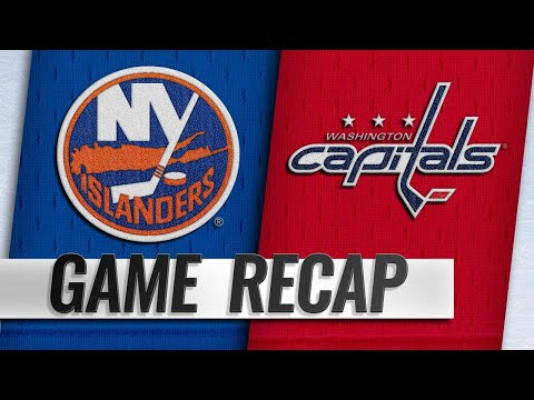 Islanders shut out Capitals in Trotz's return, 2-0