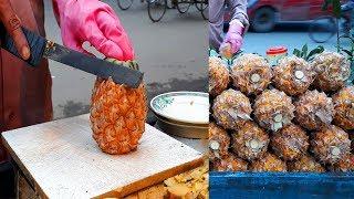 FRUIT NINJA of FRUITS | Amazing Fruits Cutting Skills | Bangladeshi Street Food In 2019