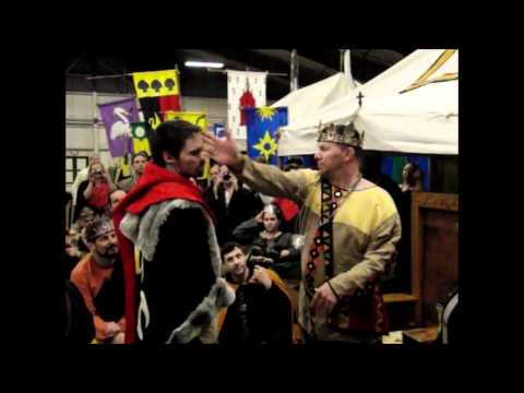 Slow Motion Slap: Medieval Knight Ceremony, Buffet of Sir Avery