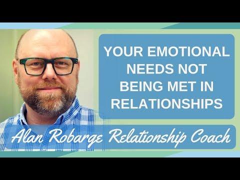 Your Emotional Needs Not Being Met in Relationships