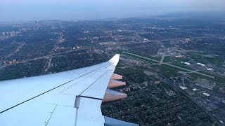 Lufthansa Airbus A330-300 Stunning Sunset Takeoff from Toronto Pearson Intl. Airport (YYZ)!