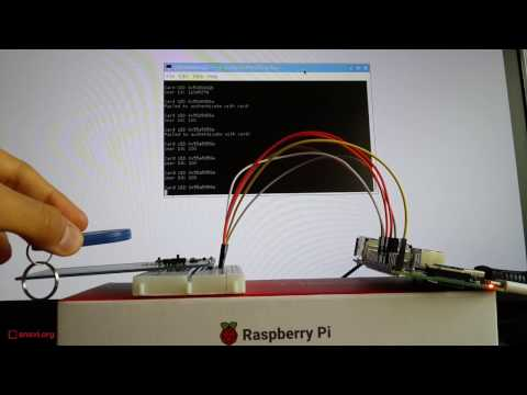 Writing and Reading RFID Tags and NFC Cards on Raspberry Pi with PN532 Module